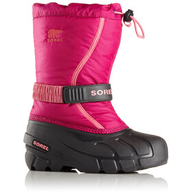 Sorel Youth Flurry Boots Deep Blush/Tropic Pink